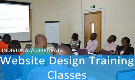 ONE ON ONE PRACTICAL TRAINING ON HOW TO DESIGN WEBSITES