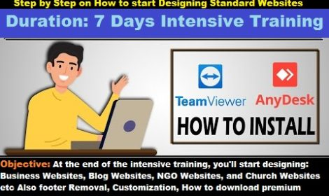 "How to Start Designing Standard Websites (Master Class Virtual Training)! ""4th Batch"". BOOK YOUR SPACE NOW!"