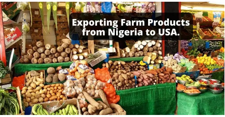 Exporting Farm Produce from Nigeria to Abroad